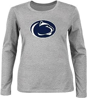 NCAA Women's Plus Size Scoop-Neck Long Sleeve Cotton Tee Shirt