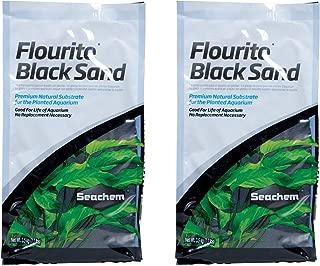 Seachem Fluorite Black Sand Substrate, 7.7 Ounces Each