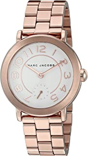 Marc Jacobs Women's Riley Rose Gold-Tone Watch - MJ3471