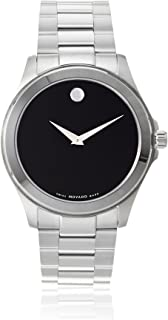 Men's 605746 Sport Silver/Black Stainless Steel Watch