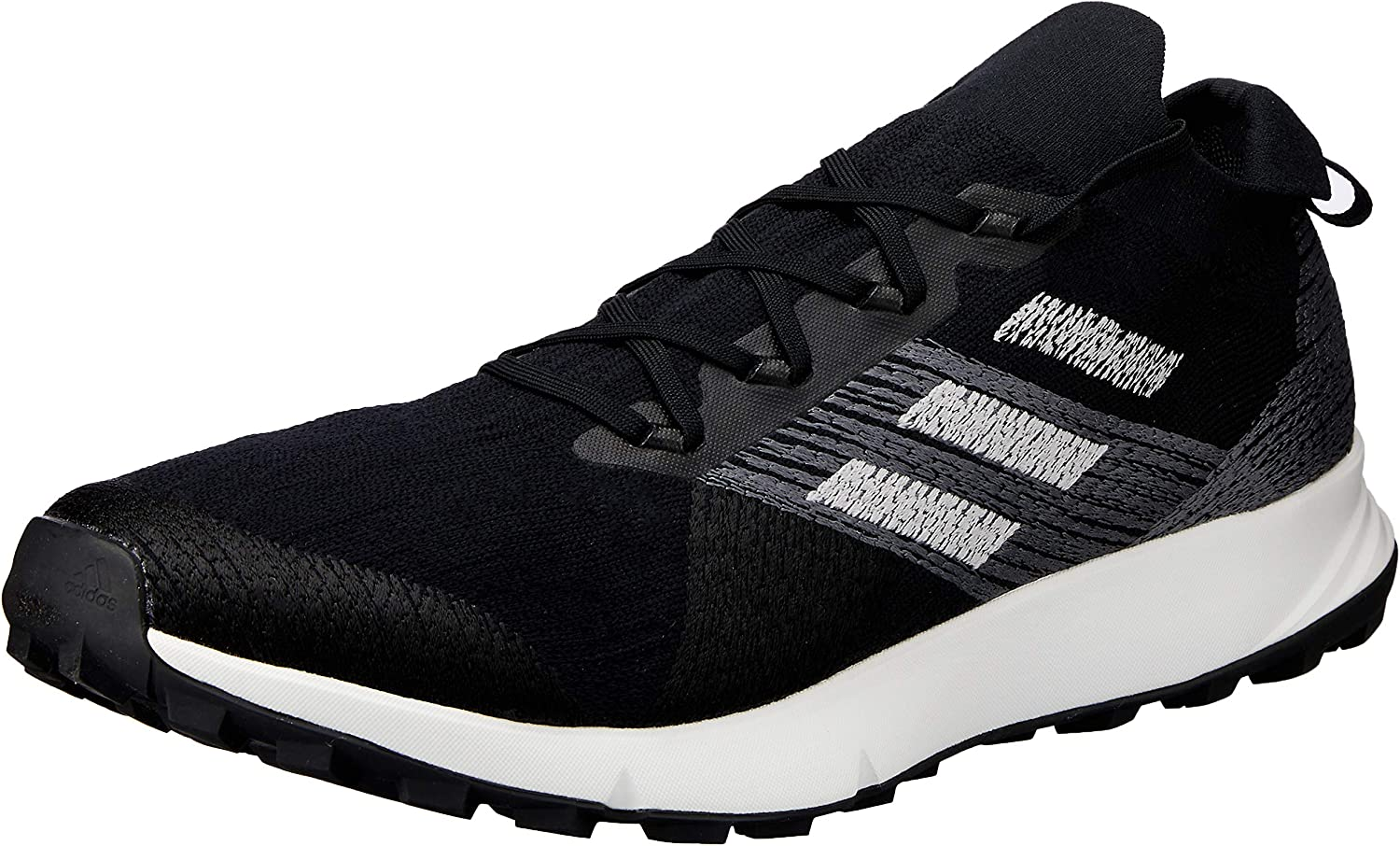 Adidas Australia Men's Terrex Two Parley Trail Running shoes, Core Black Grey Crystal White