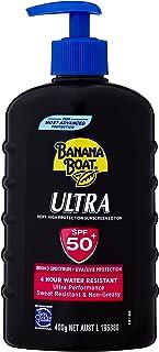 Banana Boat Ultra Sunscreen Lotion SPF50+, 400g
