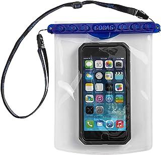 GOBAG - MAKO SELF SEALING DRY BAG - ALL SMARTPHONES PLUS ACCESSORIES - BLUE