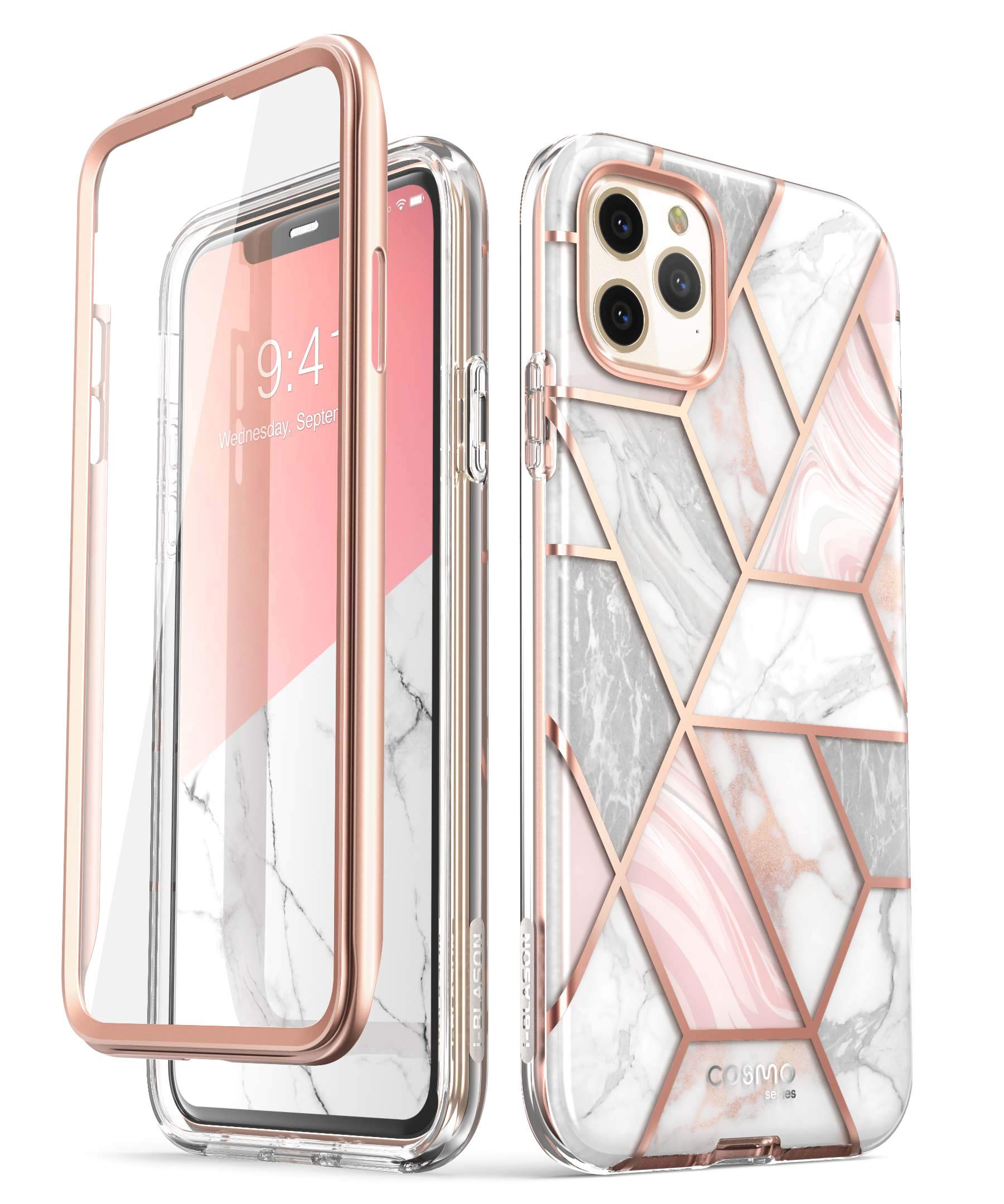 Clear Scratch Resistant Clear Case for iPhone 11 Pro 5.8 Inch 2019 Release i-Blason Halo Series for iPhone 11 Pro