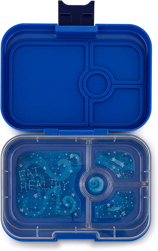Yumbox Panino Leakproof Bento Lunch Box Container For Kids Adults Neptune Blue