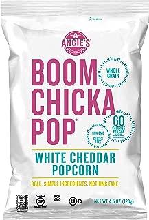 ANGIE'S BOOMCHICKAPOP White Cheddar Popcorn, 4.5 oz