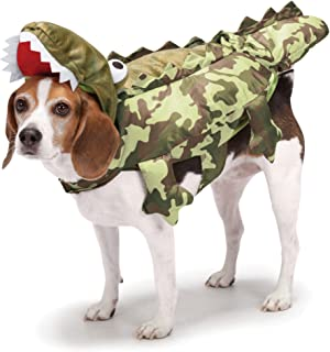 Zack & Zoey Camo Alligator Costume for Dogs, Large