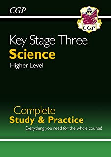 New KS3 Science Complete Study & Practice-Higher (CGP KS3 Science)