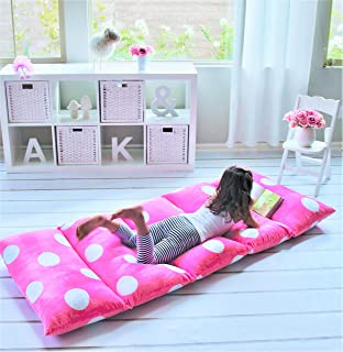Butterfly Craze Girl`s Floor Lounger Seats Cover and Pillow Cover Made of Super Soft, Luxurious Premium Plush Fabric - Perfect Reading and Watching TV Cushion - Great for SLEEPOVERS Slumber Parties