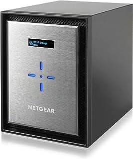 NETGEAR NAS ディスクレス 6ベイ 最大接続目安80台 10G BASE-T搭載 アンチウィルス クラウド対応 ReadyNAS 526X RN526X