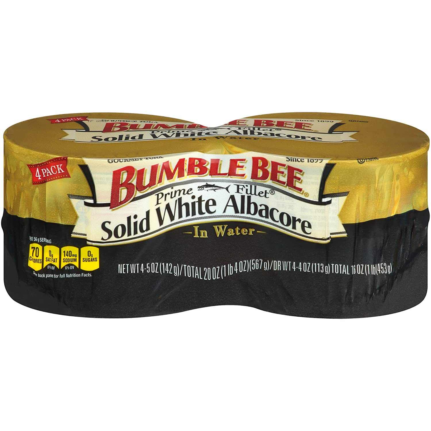 OFFicial BUMBLE BEE Prime Fillet Solid White Weekly update Water Tuna Fish Albacore in