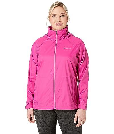 Columbia Plus Size Switchback III Jacket (Fuchsia) Women