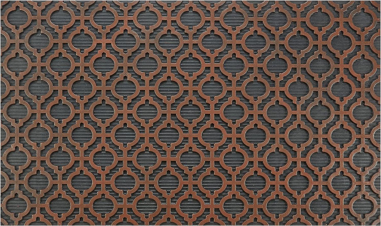 Fresh Home Elements Washington Mall Moroccan Outdoor Brown doormat mat Superlatite Welcome