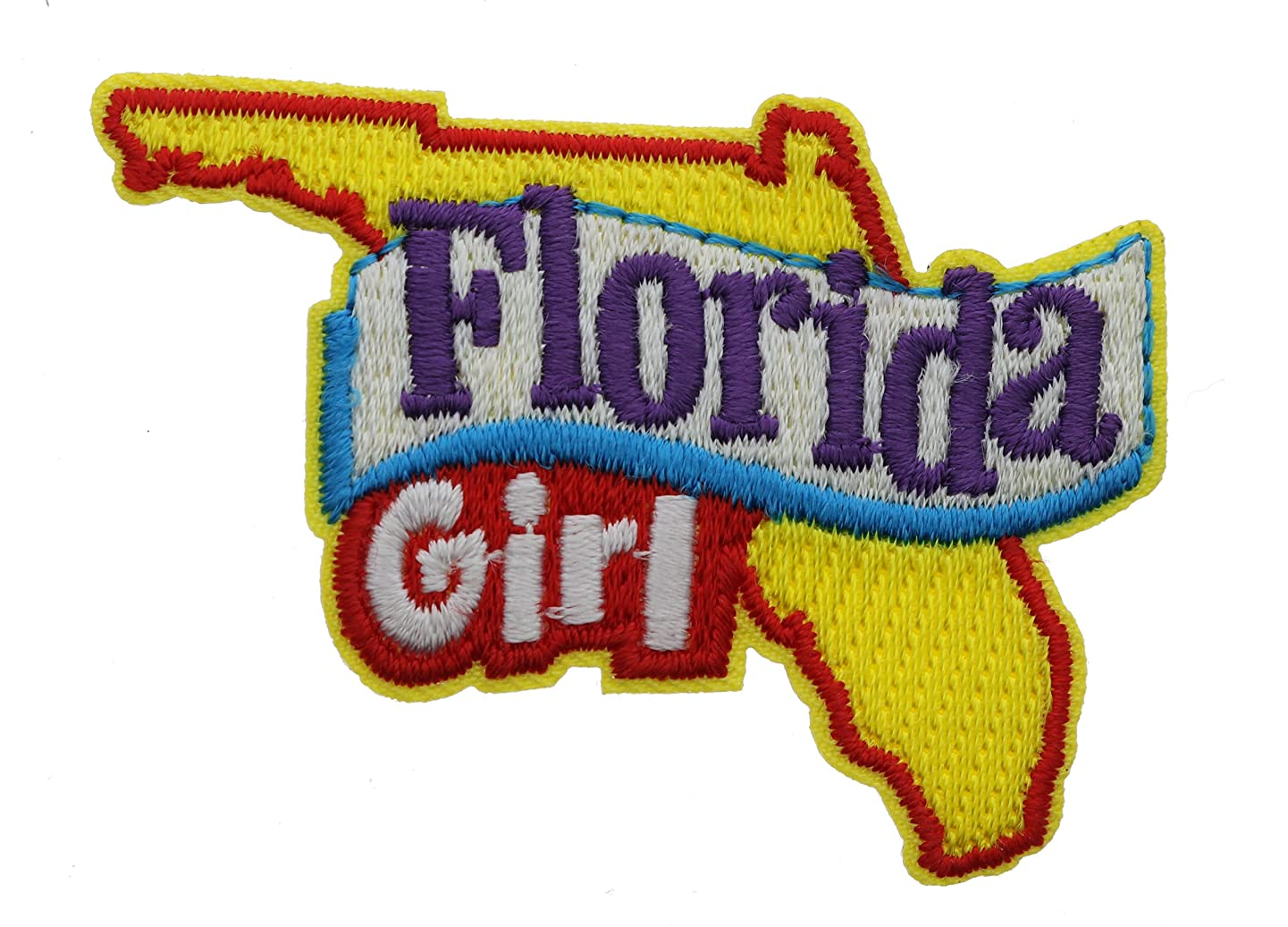Florida Girl 2 inch small Iron on Patch Ava2404