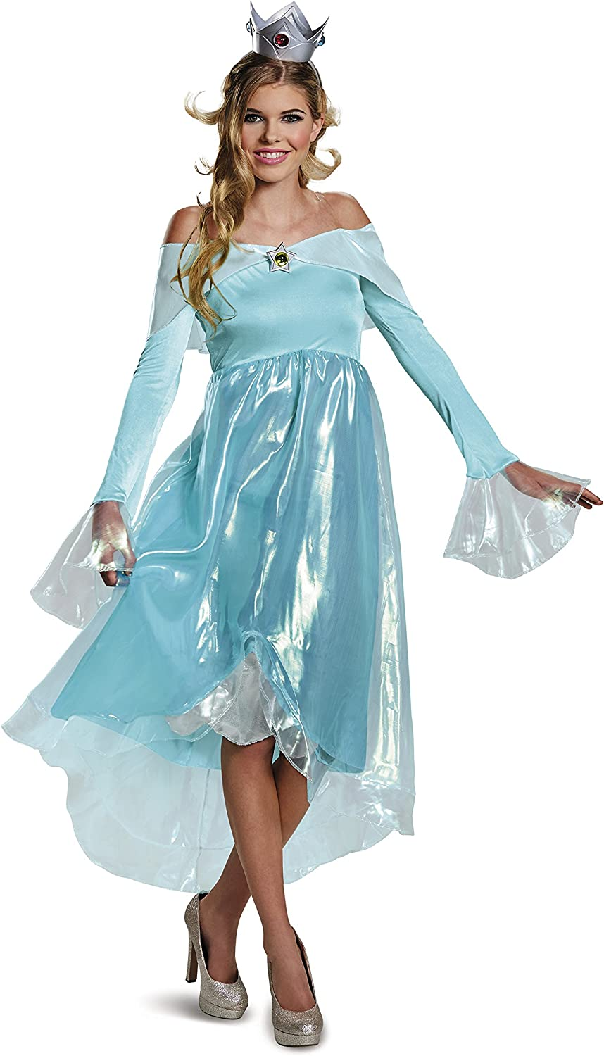 OFFicial shop Disguise Super Mario Rosalina Costume Deluxe Womens Charlotte Mall