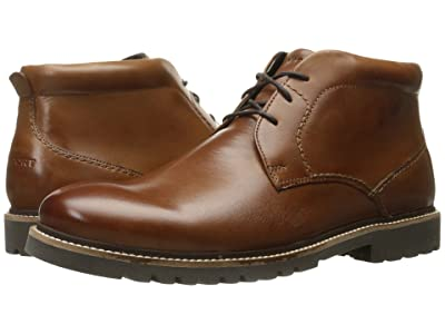 Rockport Marshall Chukka (Cognac Leather) Men