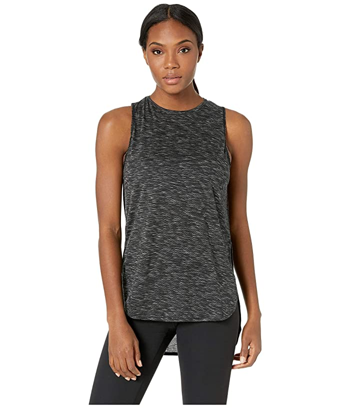 SHAPE Activewear Physique Hi Lo Tank (Black) Women