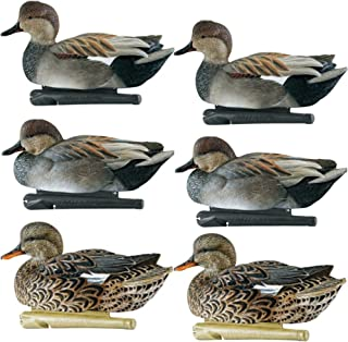 Avian-X Top Flight Gadwall Gray Duck Decoys 6 Pack