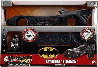 Jada Toys DC Comics Batman 1989 Batmobile DIE-CAST Car Model Kit, 1: 24 Scale Vehicle & 2.75