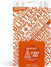 Green Goo Natural Skin Care for Cracked Hands and Feet, Insect Bites, Sunburn, Blisters, First Aid, Travel Tin, 0.7 Ounce,...