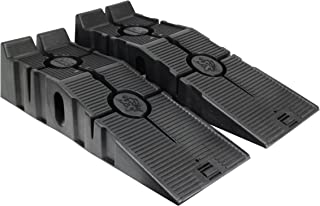 RhinoGear 11909ABMI RhinoRamps Vehicle Ramp – Set of 2 (12,000lb. GVW Capacity)