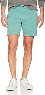 "Amazon Brand - Goodthreads Men's 7"" Inseam Flat-Front Comfort Stretch Chino Short"