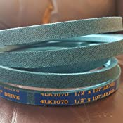 Aramid D/&D PowerDrive 954-03055A MTD or CUB Cadet Kevlar Replacement Belt 1 Number of Band