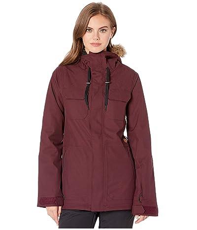Volcom Snow Shadow Insulated Jacket (Merlot) Women