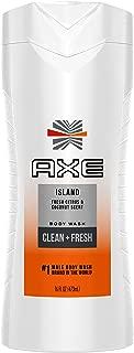 AXE White Label Body Wash for Men, Island, 16 oz