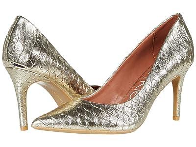 Calvin Klein Gayle Pump (Champagne) High Heels