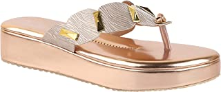 Do Bhai Fashion Girls Slip On Platform Heels