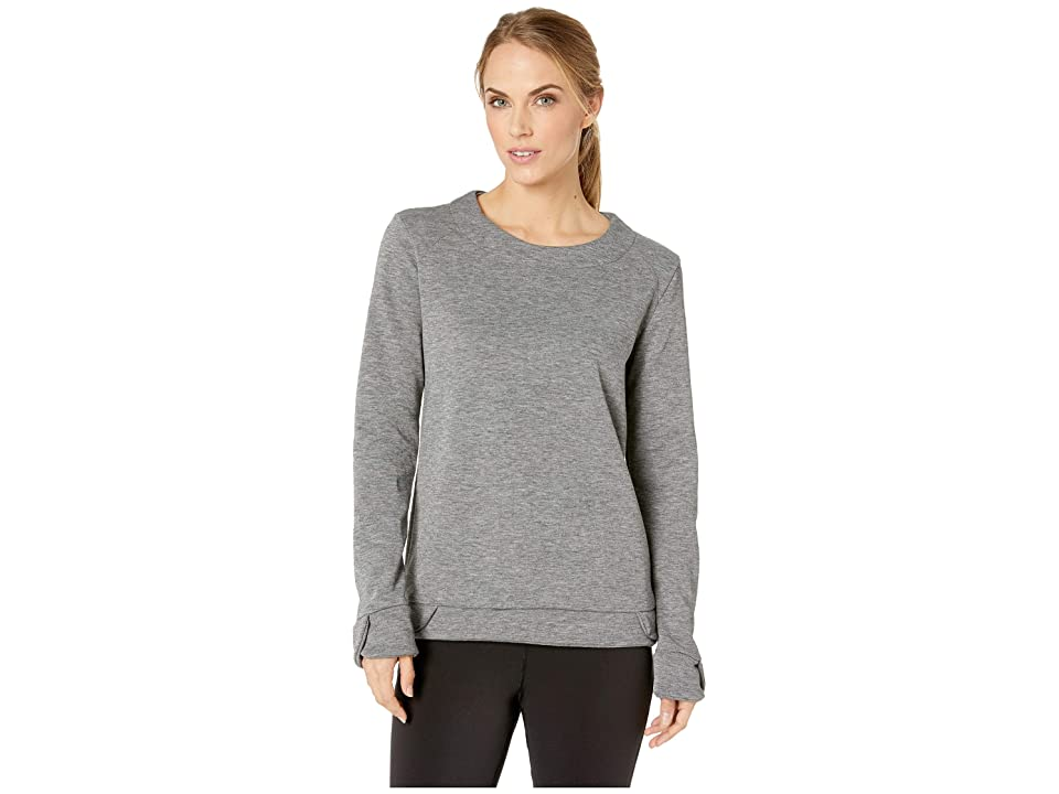 FIG Clothing Hux Sweater (Heather Grey) Women