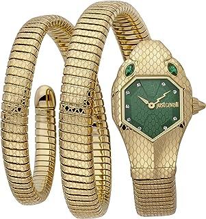 Just Cavalli Signature Snake Serpente Doppio Stainless Steel Watch JC1L168M0045 - Quartz Analog for Women in Stainless Ste...