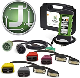Noregon Systems JPRO Professional Heavy Duty Truck Diagnostic Software & Adapter Kit (232125)