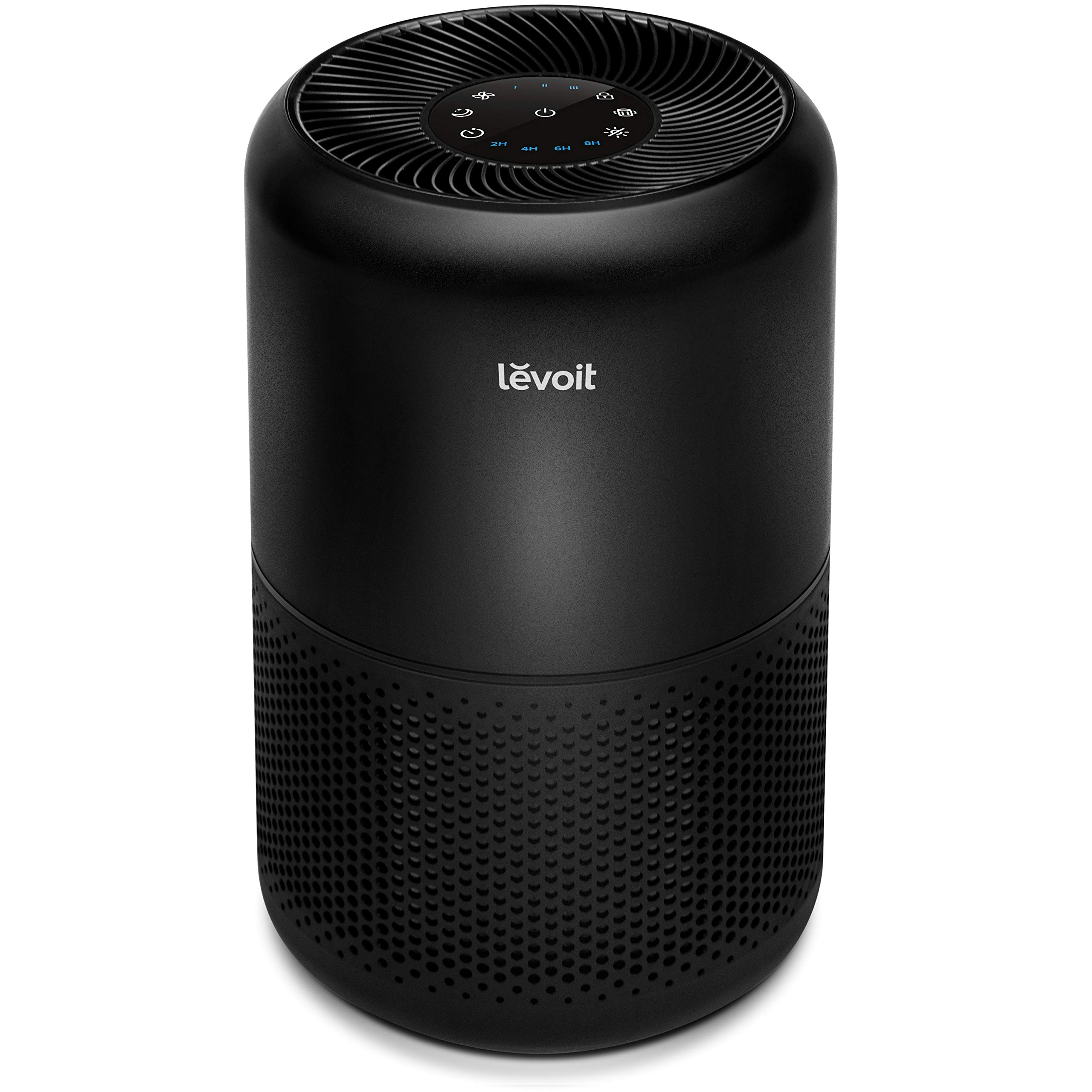 LEVOIT Air Purifiers for Home Allergies and Pets Hair Smokers in Bedroom, True HEPA Filter, 24db Filtration System Cleaner Odor Eliminators, Remove 99.97% Smoke Dust Mold Pollen, Core 300, Black