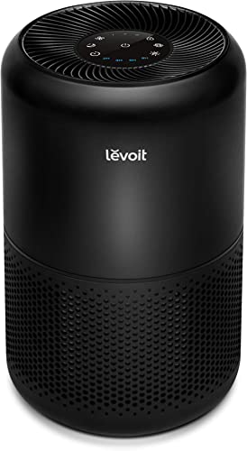 LEVOIT Air Purifiers for Home Allergies and Pets Hair Smokers in Bedroom, True HEPA Filter, 24db Filtration System Cl...