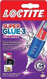 Loctite Super Glue-3 Creative, colle instantanée sous forme de stylo pour applications précises, Gel Superglue, réajustabl...