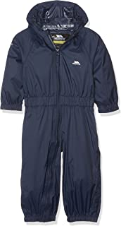 trespass baby rain suit