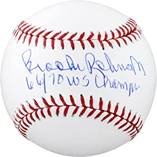 Brooks Robinson Baltimore Orioles Autographed Baseball with