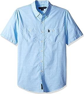 U.S. Polo Assn. Men's Short Sleeve Classic Fit Solid Shirt