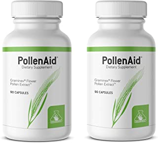 PollenAid Prostate Supplement: All Natural Prostate Support for Bladder Control & Urinary Tract Health, Rye Pollen Extract...