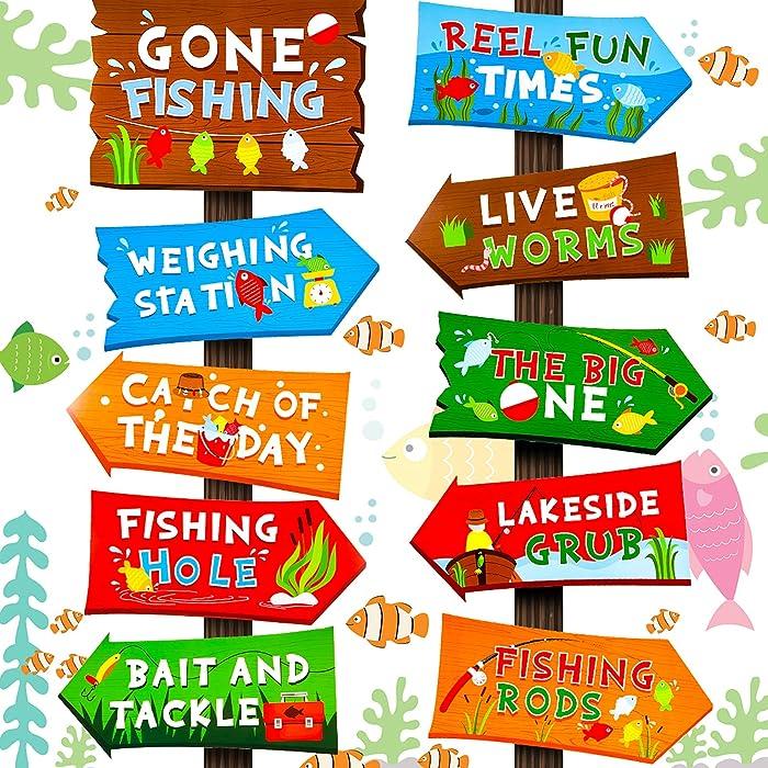 Top 10 Gone Fishing Backyard Garden