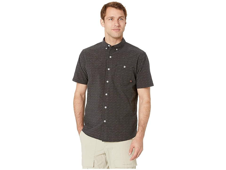 Mountain Hardwear Clear Creektm Short Sleeve Shirt (Black) Men