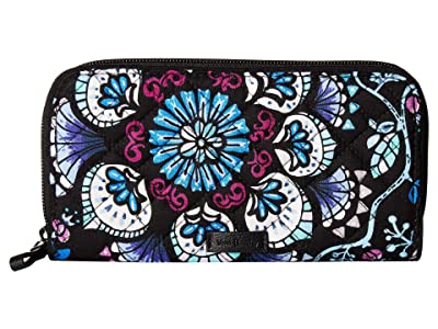 Vera Bradley Iconic RFID Georgia Wallet (Bramble) Wallet Handbags