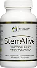 2 x Bottle 90 Caps. STEM ALIVE **AUTHENTIC ** MADE in the USA** Natural Supplement for the Proliferation and Release of Stem Cells