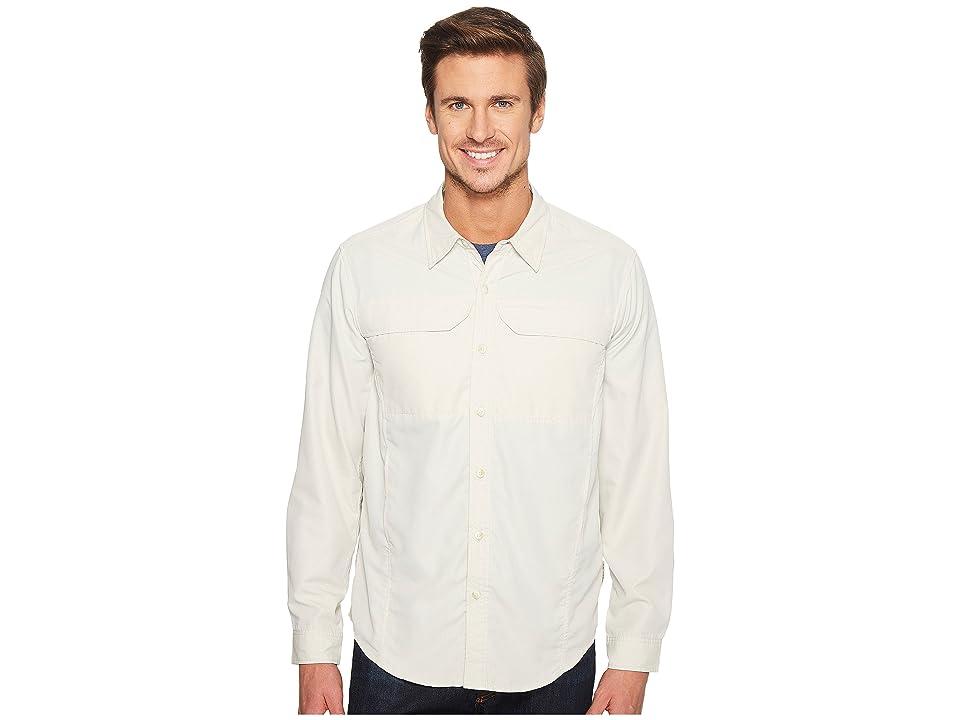 ExOfficio BugsAway(r) Viento Long Sleeve Shirt (Bone) Men