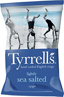 Tyrrell's Lightly Sea Salted Potato Chips, 150g