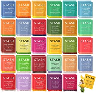 Sponsored Ad - Stash Tea Bags Sampler Assortment Box - 52 COUNT - Perfect Variety Pack Gift Box - Gift for Family, Friends...