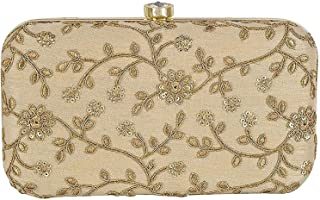 4f88ffb35b928 Gold Women's Clutches: Buy Gold Women's Clutches online at best ...