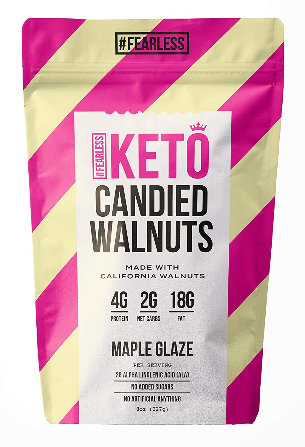 Fearless Keto Small Batch Hand-Roasted Walnuts Low Lowest price challenge - Candied Same day shipping Car